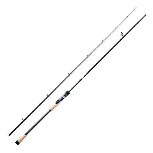 Hayandy Bass Angelrute Angelrute mit Köder 10-25g 2.1m 2.4m 2.7m MH Spinnrute Leistung Mäßige Wirkung Carbon-Rod-2.7mhs (Size : 2.7mhs)