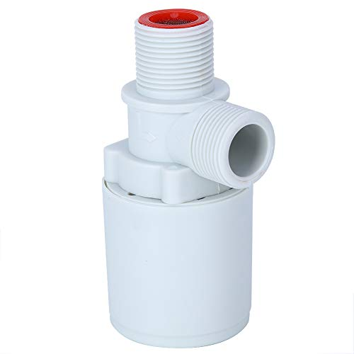 ROSEBEAR 3 / 4In Valvola di Controllo Del Livello Dell'acqua Automatica Valvola a Sfera Galleggiante in Plastica per Serbatoi D'acqua Torri Piscine