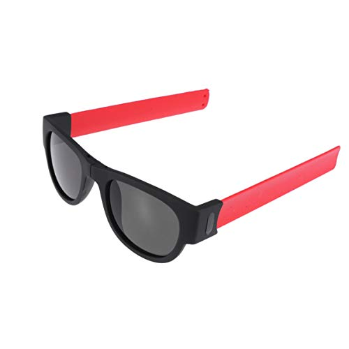 TOYANDONA Faltbare Sonnenbrille Slap Bracelet Kreatives Armband Slappable Brille Snap Bracelet Bands (UV400)