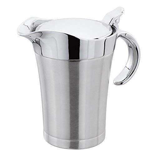 Carafe à sauce isolée 650 ml jus d'eau vin cocktails bar cuisine