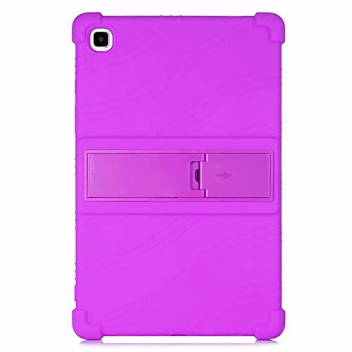 MOOPW Funda para Samsung Galaxy Tab A7 10.4 Pulgada SM-T500/T505 2020 Release Tablet Suave con Soporte Bolsa Ligero Caucho Protector Antideslizante Fundas Blandas