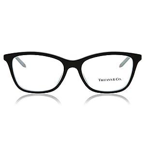 Tiffany Eyeglasses TIF 2116B Eyeglasses 8193 Black Striped, Black, Size 16.0