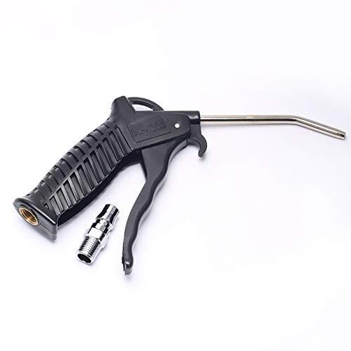 DEVMO Pistol Grip Air Compressor Blow Gun with Composite Handle Grip Extended Steel Nozzle
