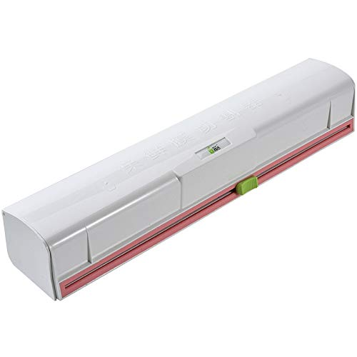 Fauge Cortador de Film Transparente, Cortador de Cocina Dispensador de Papel de Aluminio con Cortador de PelíCula Adhesiva