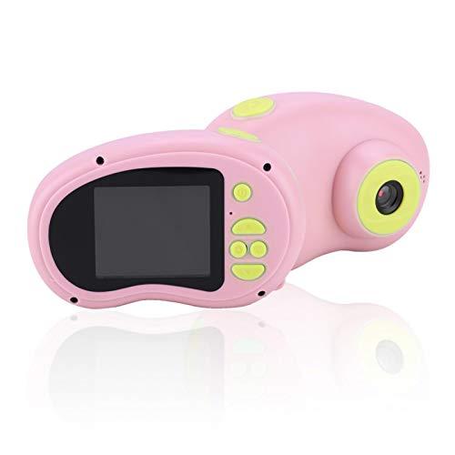 Goshyda Cámara para niños de 8MP, videocámara de grabación de Video Digital 1080P Cámara DV para niños con batería de 400mAh para niños y niñas(Rosa)