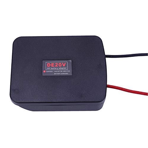 Compatible para DeWalt 18V/20V baterías de conversión de Litio y Adaptador de Bricolaje para DCB184 / DCB181 / DCB182 / DCB200 / DCB201, etc.