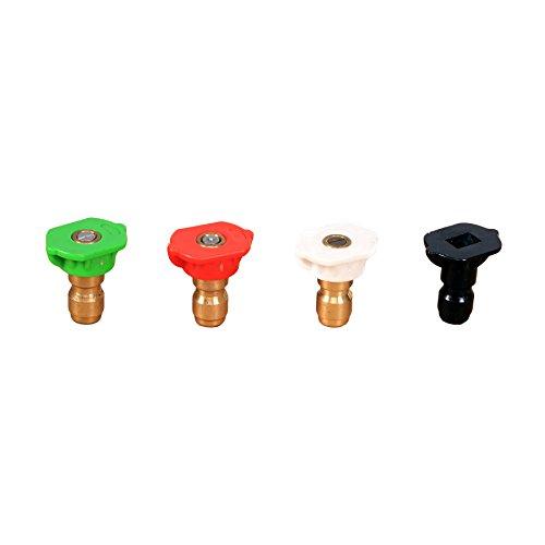 Greenworks Universal Hochdruckreiniger Düse Tipps (4Stück) 5201502