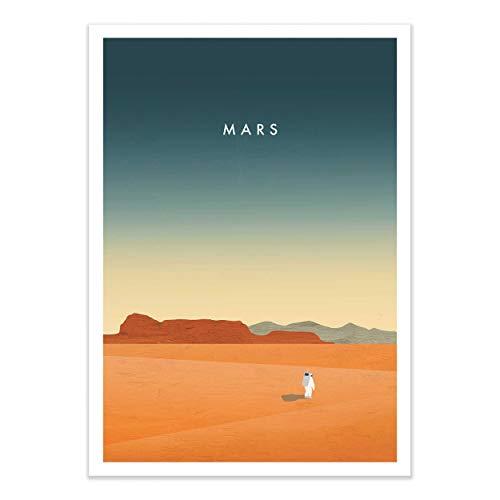 Wall Editions Art-Poster - Mars - Katinka Reinke