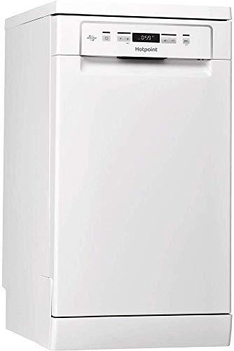 Hotpoint HSFC 3T127 C, Lavastoviglie 45 cm a Libera Installazione, 10 Coperti, E, Bianco [Classe di efficienza energetica E]