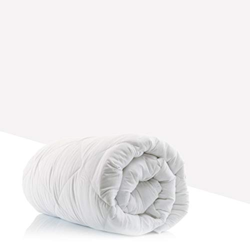 Sleep&Snuggle Super value Hollowfibre DUVET/QUILT Non woven cover - Anti-Allergy, Luxurious soft touch Lightweight Duvet, Hypoallergenic (4.5, Double)