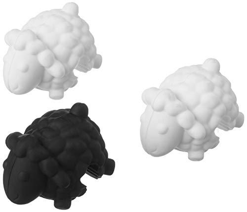 Tovolo 81-4436 Kochdeckel-Halter, Silikon, schwarz/weiß