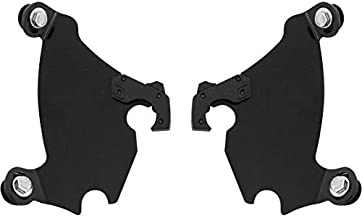 Memphis Shades Trigger-Lock Plate-Only Kit (Black/Gauntlet Fairing) for 96-10 Harley XL1200C