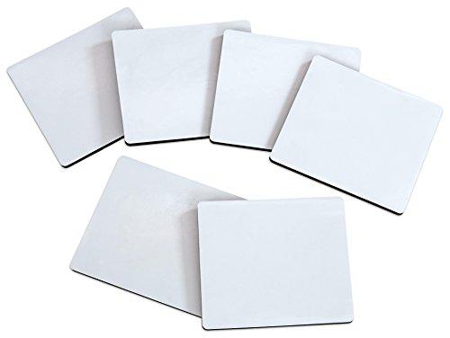Betzold - Mini Whiteboard Set - Magnettafel beschreibbar - Memo-Board Magnet-Tafel