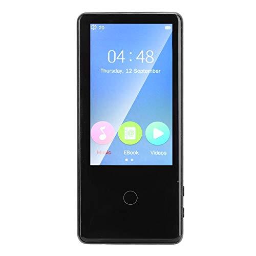 Bluetooth mp3-speler, mini-muziekvideospeler met 3,0 inch IPS-scherm, ondersteunt FM/video/e-book, 7 uur afspeeltijd, inclusief beschermhoes en hoofdtelefoon