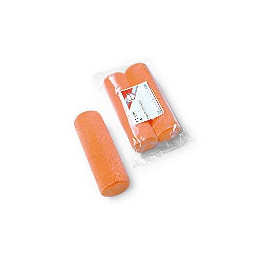 PACK 2 UD. MINI RECAMBIO POLIFLOCADO 10 cm. Mini rodillo espuma super fina acabado lacado