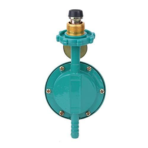 L.J.JZDY Ventil Druckregler Haushalts Verflüssigtes Gas Druckminderer Minderer Flaschendruckregel (Color : Grün, Size : Without Gauge)