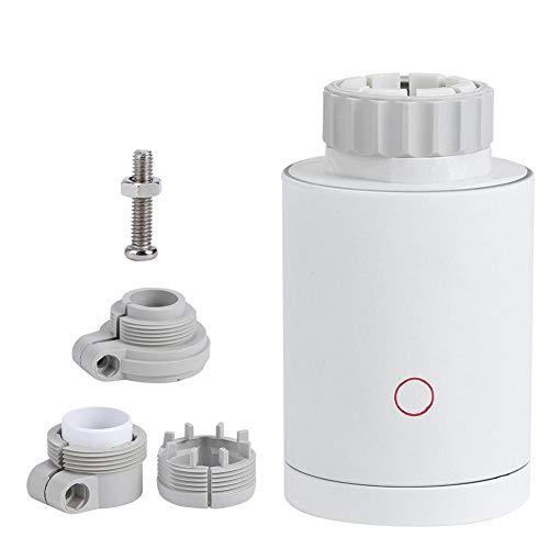 Huishoudelijke ABS Wifi Programmeerbare temperatuurregeling Thermostaat Radiator Actuator Kleppen voor Smart Home