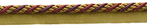 Medium Black Cherry Red, Camel Beige, Purple 6mm Alexander Collection Lip Cord|Style# 0025AX|Color: Cerise - LX09|Sold by the Yard (91cm / 3 Ft / 36"|500|98|?|en|2|d85c6b2c5bcfcaafd1dd32ae2758842d|False|UNLIKELY|0.31517475843429565