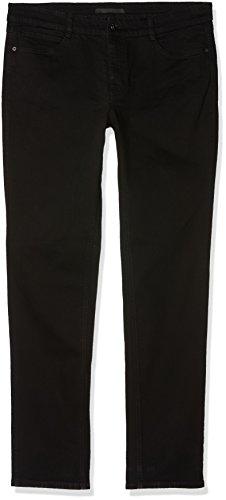 MAC Jeans Damen Slim Jeans Angela_5240, Schwarz (Black D999), W46/L30