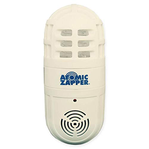 Atomic Zapper 2-in-1 Ultrasonic Pest Repeller & Bug Zapper by BulbHead, Easy to Use Insect Killer (1 Pack)