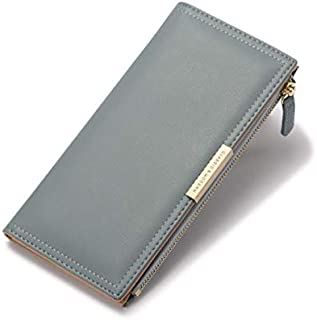 [zaltkaten] 長財布 レディース 小銭入れ 二つ折り カード入れ 12枚収納 女性用 多機能 財布 大容量