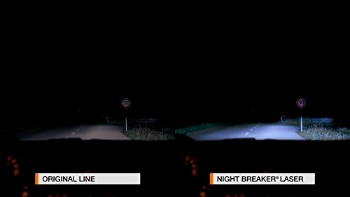 Osram 64210NBL-HCB NIGHT BREAKER LASER H7 Halogen Scheinwerferlampe, 12V, Duo Box, 2 Stück