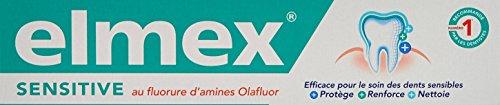 ELMEX SENSITIVE PLUS - Pasta de dientes Dentrífico, 75ml