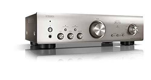 Denon PMA800NESPE2 stereo-volversterker (aluminium frontscherm, digitale ingangen, ECO-standby, 2x 85 watt), Premium Zilver