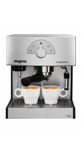 Magimix Expresso Máquina espresso 1.8L Cromo - Cafetera (M