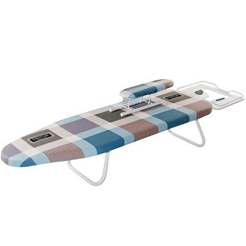 AOYANQI-Herramientas de planchado Alargar la placa de escritorio de planchado, resistente a las manchas Impreso Algodón Bastidores de planchado, con el soporte de la manga Un pequeño, conveniente for