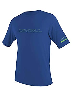 O'Neill Wetsuits Kids' O'neill Youth Basic Skins UPF 50+ Short Sleeve Rash Guard