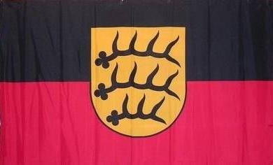Hohenzollern Königreich Württemberg Fahne Flagge Polyesterstoff 1,50x0,90m