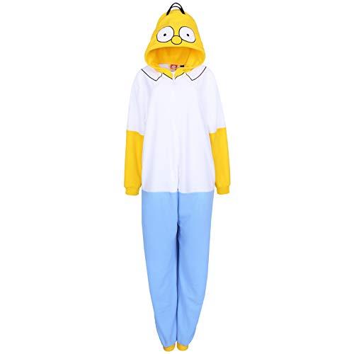 Primark Limited The Simpsons Homer Simpsons Herren Einteiler Pyjama Pyjama Gr. M-L, Multi