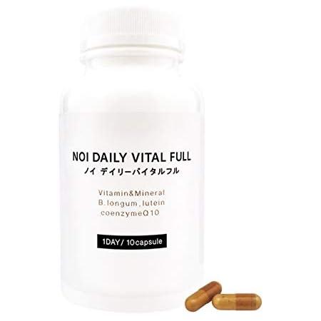 noi デイリーバイタルフル 300粒 高濃度 マルチビタミンミネラル + ビフィズス菌 ロンガム種 BB536 150億個 天然ルテイン CoQ10