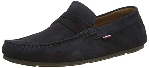 Tommy Hilfiger CLASSIC SUEDE PENNY LOAFER heren mokassins