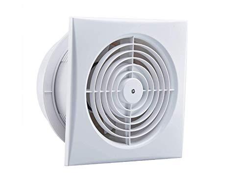 LXZDZ Ventilador de escape Tubo de escape Montaje en pared Bajo nivel de ruido Baño familiar Cocina Ventilación Extractor de ventilación