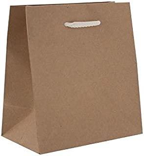 Berwick Offray Euro-Totes 纯色包-L Vogue-16 宽 X 12 英寸高 X 6 英寸三角布-100 支牛皮纸