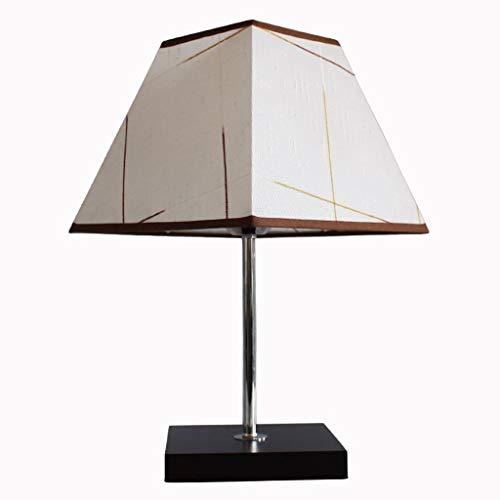 NXYJDe Estilo Europeo Minimalista lámpara de Mesa, lámpara de Escritorio de Madera sólida de Escritorio y Dormitorio, Textura Dura y no Rust
