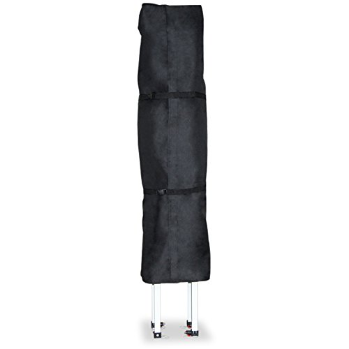 TOOLPORT PROFIZELT24 Schutzhülle für 3x3 m Pavillon Faltzelt Gartenpavillon Klappzelt Faltpavillon, in schwarz aus wasserfestem und schmutzabweisendem Oxford-Material 480 g/m²