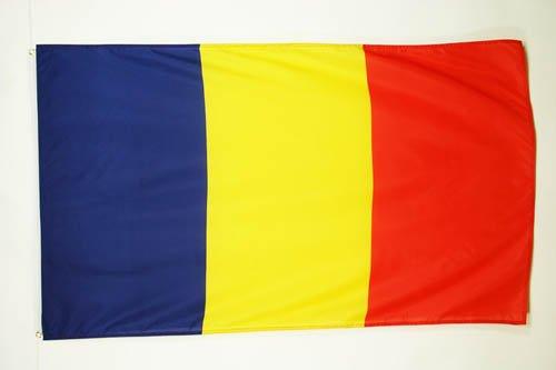 AZ FLAG Flagge RUMÄNIEN 90x60cm - RUMÄNISCHE Fahne 60 x 90 cm - flaggen Top Qualität