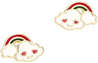 Cuties Collection Enamel Starlight Dreams Post Earring Group