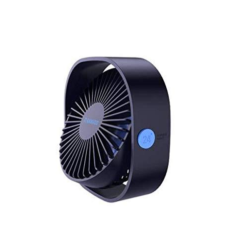 BJLWTQ Ventilador de Mesa de Personal, USB, Mini, Residencia de Estudiantes, Oficina, Mute, Compacto, portátil, Azul (Color: Azul)