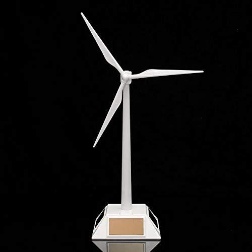 DIY Wood Crafts Science Experiments Windmill Wind Mill Turbine Teaching Tool & Desktop Display Tray Holder Plastic Solar Powered DIY Kits for Adults Science Kits
