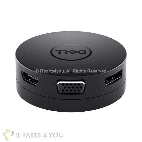 DELL Mini Universal Docking Adapter DA300 USB-C HDMI DP VGA Ethernet 470-ACWN
