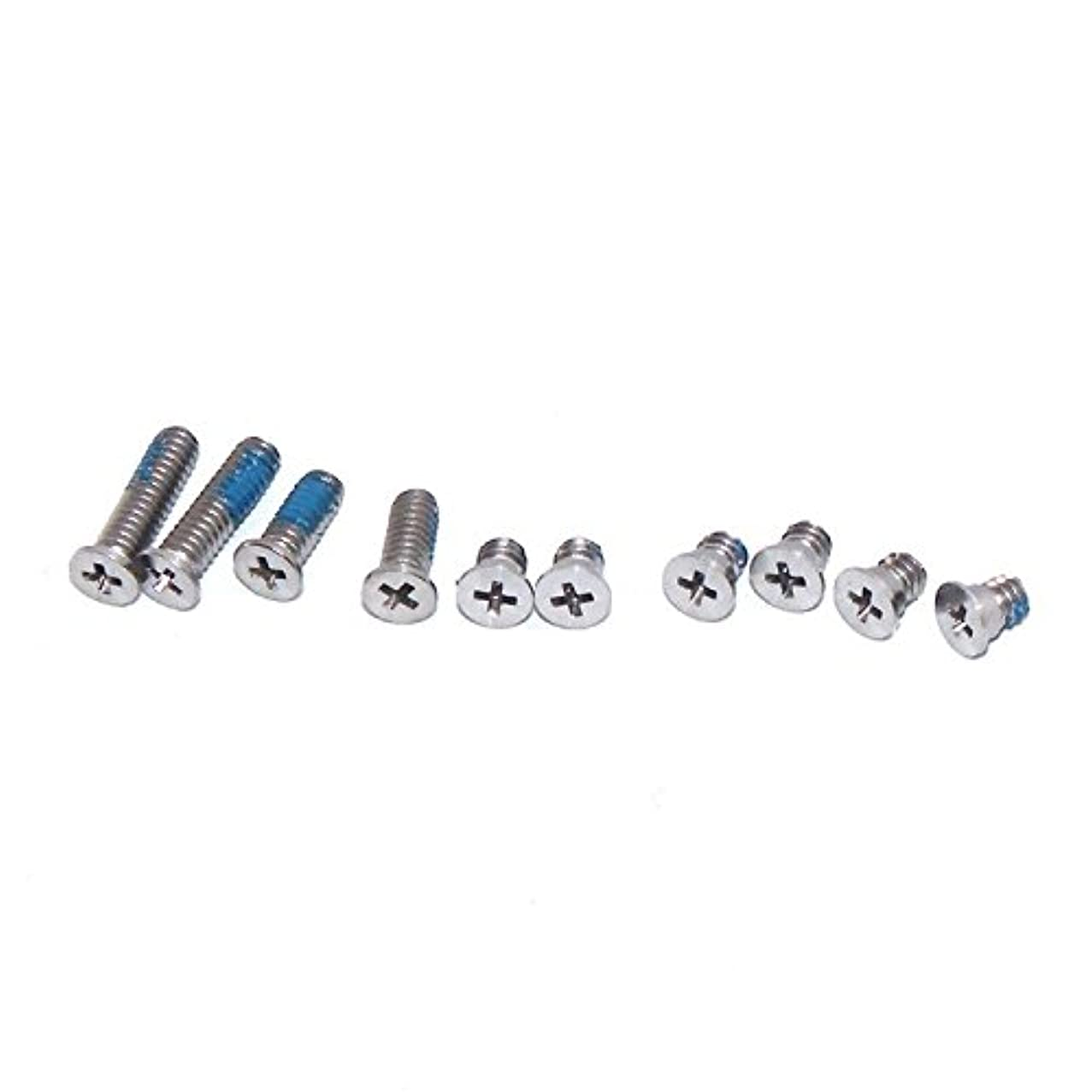 (#94) 10 in 1 for compatible with : Macbook Air 13.3 inch A1237 / A1304 Computer Case Bottom Cover Screws (4 Long + 6 Short)