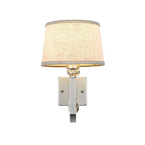 Wandlamp wandlamp slaapkamer Europees glas lief nachtlicht creatieve LED Scandinavisch modern eenvoudig ijzer kunst gang lampen en lantaarns