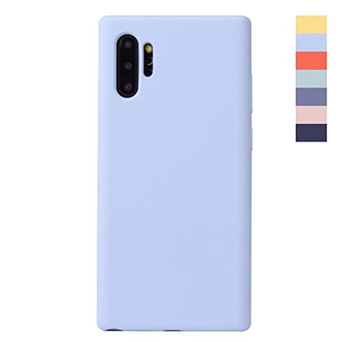 ONEYMM Case voor Samsung Galaxy Note8/Note9/Note10 Liquid siliconen hoesje vloeibare siliconen microvezel Phone Case Case Cover Ondersteunt draadloze oplader