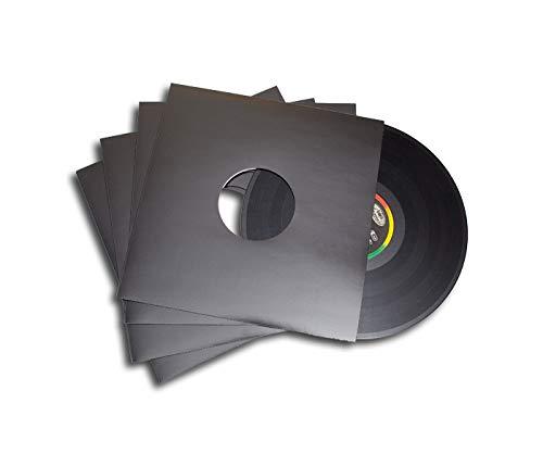 LP Schallplatten Maxi Cover/Discobag schwarz Deluxe Protected (25 Stück)