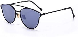 DING-GLASSES - DING-GLASSES Gafas Gafas de Sol polarizadas for niños de Woemn for niños Gafas de Sol clásicas for bebés Gafas de Sol de Marea a la Moda Gafas de protección UV (Color : Black)