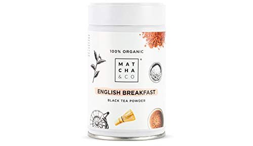 Té Negro English Breakfast 100% Ecológico   Matcha & CO (70 g)